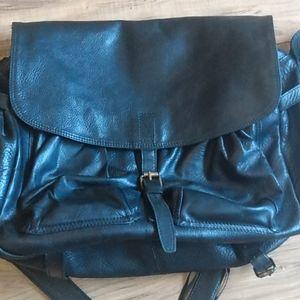 COPY - John varvatos leather messenger bag